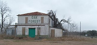 Oak Forest, Texas - The old Quinton General Store at Oak Forest, Texas.