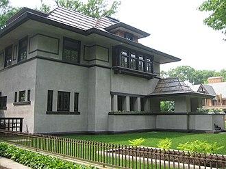 Edward R. Hills House - Image: Oak Park Il Hills House 5