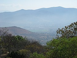 View of the Valley of Oaxaca from Monte Alban