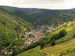 Oberdiebach, Landkreis Mainz-Bingen, Rheinland-Pfalz.