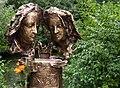 Obermenzing - Schloss Blutenburg - Agnes Bernauer Denkmal 002.jpg