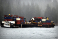 Ocean Eagle and barge aground.PNG