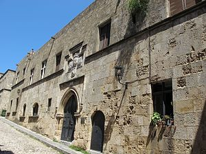 Langue (Knights Hospitaller) - Auberge of Provence in Rhodes