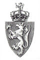 Official CoA of Norway byPeterssen 1905.jpg