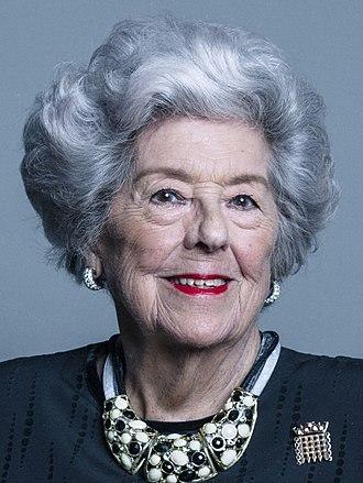 Betty Boothroyd - Betty Boothroyd in 2018