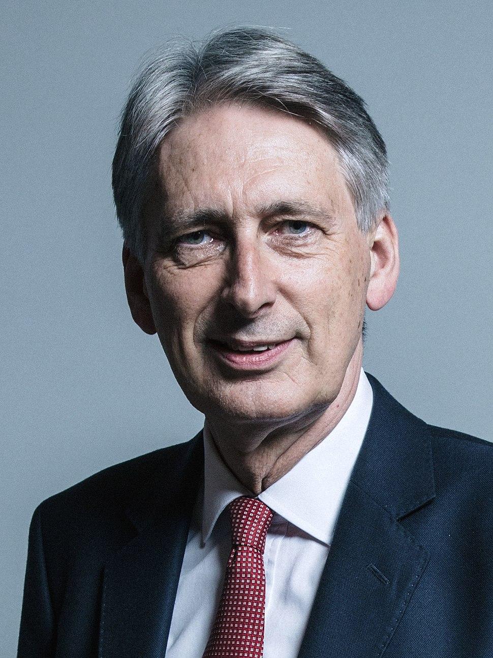 Official portrait of Mr Philip Hammond crop 2