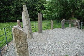 Beaufort, County Kerry - Dunloe Ogham Stones