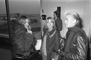 Bulle Ogier - Juliet Berto, Bulle Ogier, and Marie Dubois in 1972
