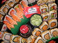Okami variety sushi platter.JPG