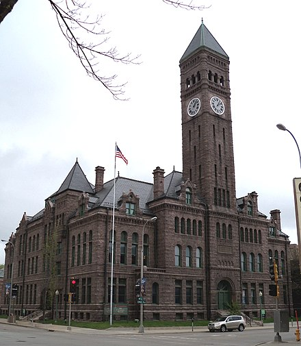 Old Minnehaha County Courthouse, in Minnehaha County OldMinnehahaCountyCH9.jpg