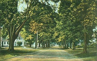 Deerfield, Massachusetts - Image: Old Main Street Looking North, Deerfield, MA