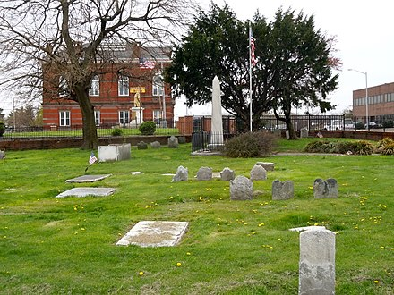 Old St. Paul's Church Burial Ground Old Swedish Burial Ground Chester Delco.jpg