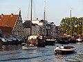 Old ship harbor, Leiden (9034817817).jpg