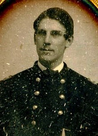 Oliver Wendell Holmes Jr. - Daguerreotype showing Holmes in his uniform, 1861