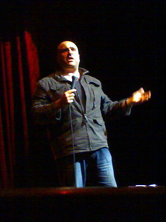 Omid Djalili - Djalili performing at the Arts Depot in 2007