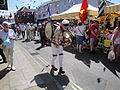 One-man band at Yarmouth Old Gaffers Festival 2011.JPG