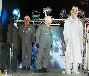 Doctor Who exhibitions - The Ood