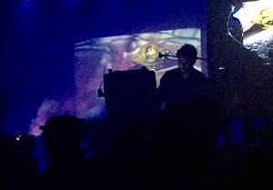 Oneohtrix Point Never - OPN performing in New York in 2016, with visuals by Nate Boyce.