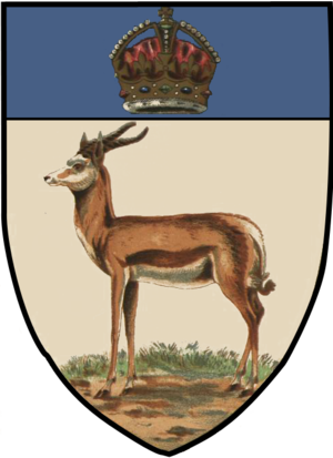 Orange River Colony - Image: Orange River Colony Arms