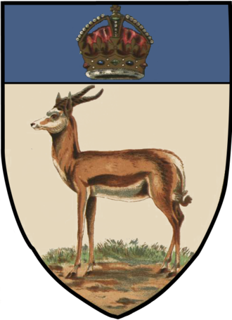 Orange River Colony - Image: Orange River Colony Arms