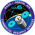Orbital Sciences CRS Flight 6 Patch.png
