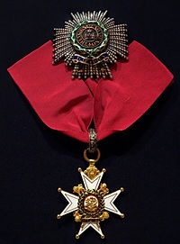 Order of the Bath, Breast Star and Badge, Knight Commander, Saxe-Ernestine House Order, awarded to Major-General Sir Charles Taylor du Plat, British Army - Glenbow Museum - DSC00629.JPG