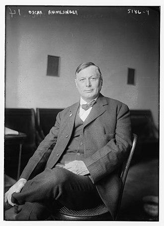 Oscar Ameringer - Ameringer in 1920