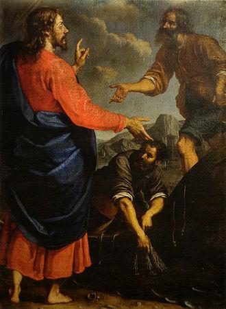 Ottavio Vannini - Ottavio Vannini, The Vocation of Saint Andrew and Saint Peter, San Gaetano, Florence