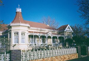 Oudtshoorn - A historical building in the town