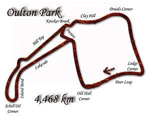 1972 International Gold Cup - Oulton Park circuit