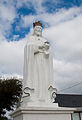 Our Lady's Island Church of the Assumption Statue of Christ the King 2010 09 26.jpg