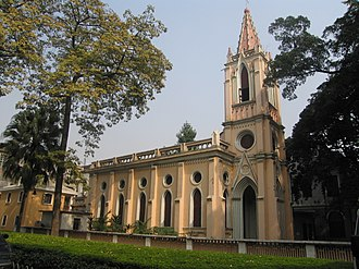 Xiguan - Church of Our Lady of Lourdes (Catholic church) on Shamian Island