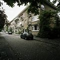 Overzicht van de voorgevels van het woonblok aan de Hebronstraat - Rotterdam - 20388531 - RCE.jpg