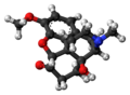 Oxycodone molecule ball.png