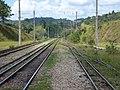 Pátio da Estação Engenheiro Acrísio em Mairinque - Variante Boa Vista-Guaianã km 166 - panoramio (8).jpg