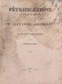 Pétrifications recueillies en Amérique par Mr. Alexandre de Humboldt et par Mr. Charles Degenhardt.pdf