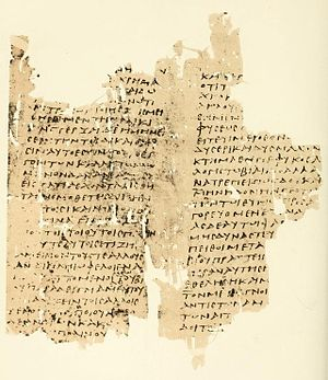 Papyrus Oxyrhynchus 23 - P. Oxy. 23