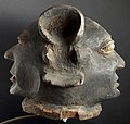 PC067742a 5643 Janus helmet Possibly associated with Gule Wamkulu. ? Chewa or related groups, Southern Tanzania or neighbouring regions. (11264048006).jpg