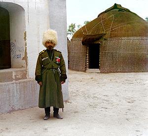 Semirechye Cossacks - Semirechye Cossack, Semirechye (present-day Kyrgyzstan and Kazakhstan), 1911