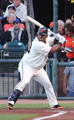 Pablo Sandoval on July 15, 2010.jpg