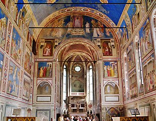 Frescos in the Scrovegni Chapel