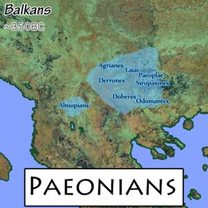 300px Paeonians Γραμματειακές πηγές για την Παιονία και τους Παίονες