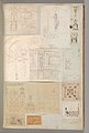 Page from a Scrapbook containing Drawings and Several Prints of Architecture, Interiors, Furniture and Other Objects MET DP372097.jpg