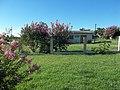 Paisagem florida em frente a Igreja Assembléia de Deus. Congregação Palma - panoramio.jpg