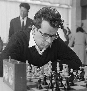 Pal Benko Hungarian chess player