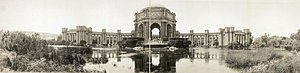 Panama–Pacific International Exposition - Image: Palace of fine arts 1919
