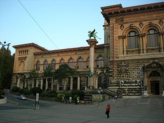 Cantonal Museum of Fine Arts - The museum is currently based in the northeast wing of the Palais de Rumine