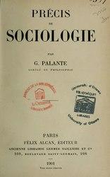 Français: Précis de sociologie