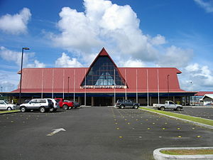 Roman Tmetuchl International Airport - Image: Palau International Airport 1