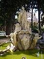 Palazzo Venezia cortile grande fontana Venezia che sposa il mare 1050325.JPG